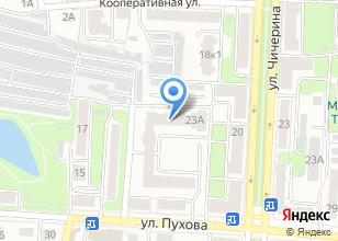Компания «Центрсвязьтелеком» на карте