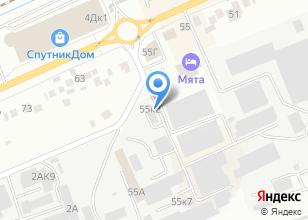 Компания «Спутник Авто» на карте