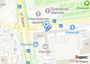 Компания «Автолэнд+ автоцентр» на карте