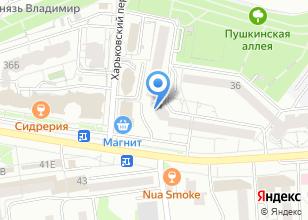 Компания «Ветин» на карте