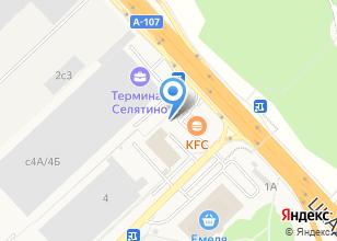 Компания «АЗС Мега Ойл» на карте