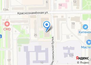 Компания «ТВР+» на карте