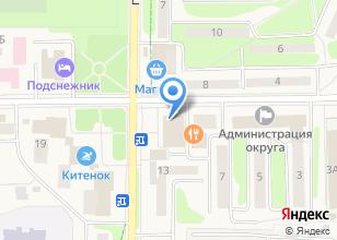 Компания «Pizza Mia» на карте