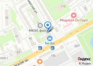 Компания «БСУ Одинцово» на карте