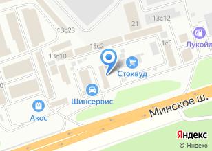 Компания «УниверКреп» на карте