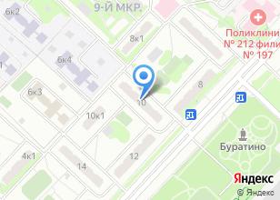 Компания «Бурение-скважины-мо.рф» на карте