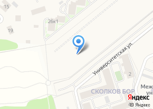Компания «Академгородок» на карте