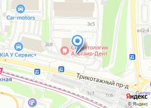 Компания «Рида Моторс» на карте