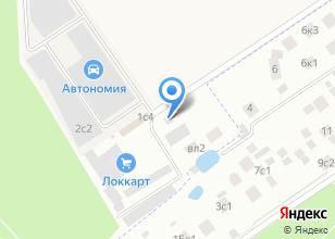 Компания «Кастом-Шоп» на карте