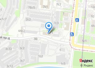 Компания «АНИВЕТ» на карте