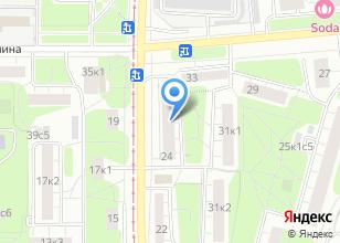 Компания «Металлические двери Дверник» на карте