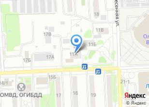 Компания «Кибер нет» на карте