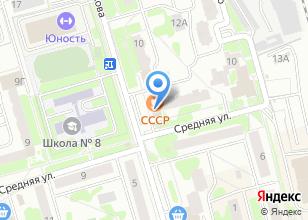 Компания «Чехов» на карте