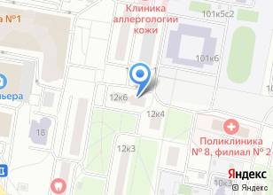 Компания «Жилищник района Тропарево-Никулино» на карте
