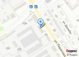 Компания «М-Дизайн» на карте