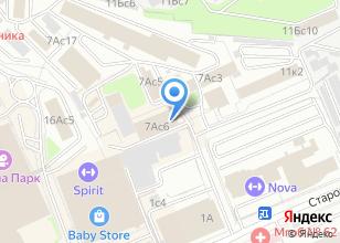 Компания «Контора кадров.рф» на карте