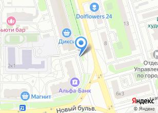 Компания «Рутсофт» на карте