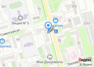 Компания «Стратус+» на карте