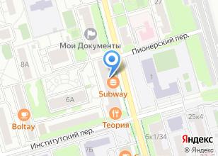 Компания «Интерматика» на карте