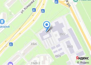 Компания «Мидиса» на карте