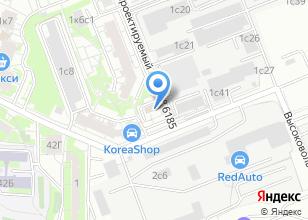 Компания «Ант-Снаб» на карте