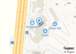 Компания «КЭМП» на карте