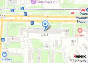 Компания «Интерактис» на карте