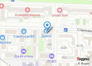 Компания «Центр геодезических и кадастровых услуг» на карте