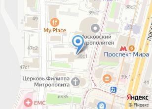 Компания «Центр занятости молодежи города Москвы» на карте