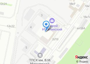 Компания «РестГорСтрой» на карте
