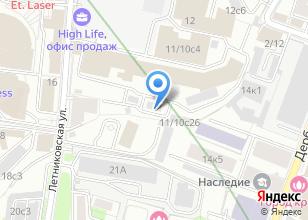 Компания «ГлавСтройГрупп» на карте