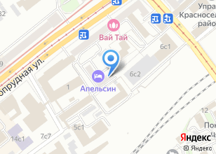Компания «Красное село» на карте