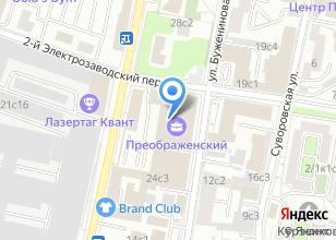 Компания «Газинжинвест» на карте