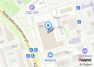 Компания «Амелит» на карте