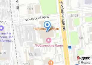 Компания «Автотехцентр ЮГ-В» на карте