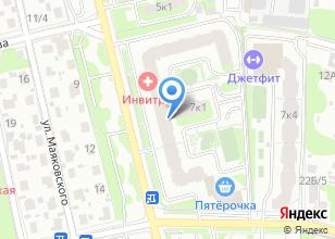 Компания «КомфортСтрой» на карте