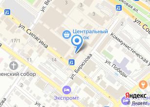 Компания «Джосей» на карте
