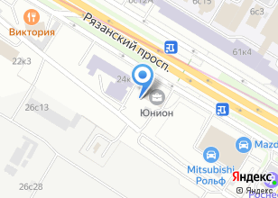 Компания «Пенетрон-Россия» на карте