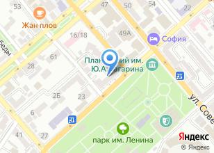 Компания «Прилив» на карте