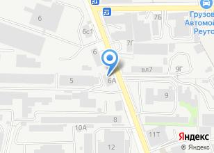 Компания «ТехСтройИнвест» на карте