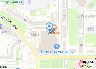 Компания «Окраина» на карте