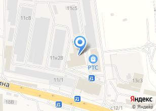 Компания «Мосметпром» на карте