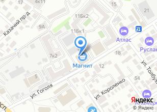 Компания «Рекламный экран» на карте