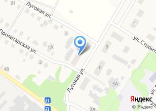 Компания «Магазин продуктов на Луговой» на карте