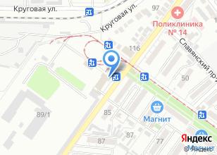 Компания «AvtoParts23» на карте
