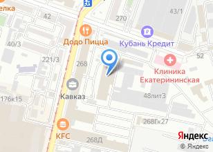 Компания «Амадей» на карте
