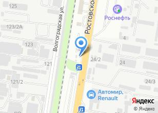 Компания «Юг-контакт» на карте