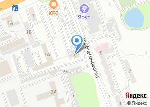 Компания «СГТО ГИБДД» на карте