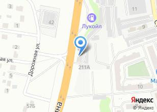 Компания «АКБ Сервис» на карте