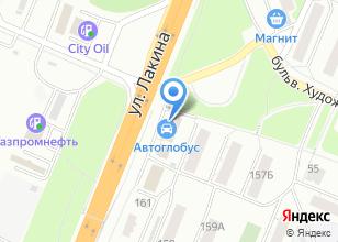 Компания «Строймир XXI Век» на карте